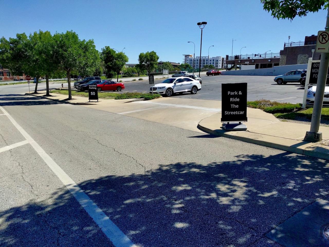 Parking Options   The KC Streetcar - Parking Along the