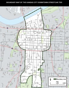 Downtown TDD Map