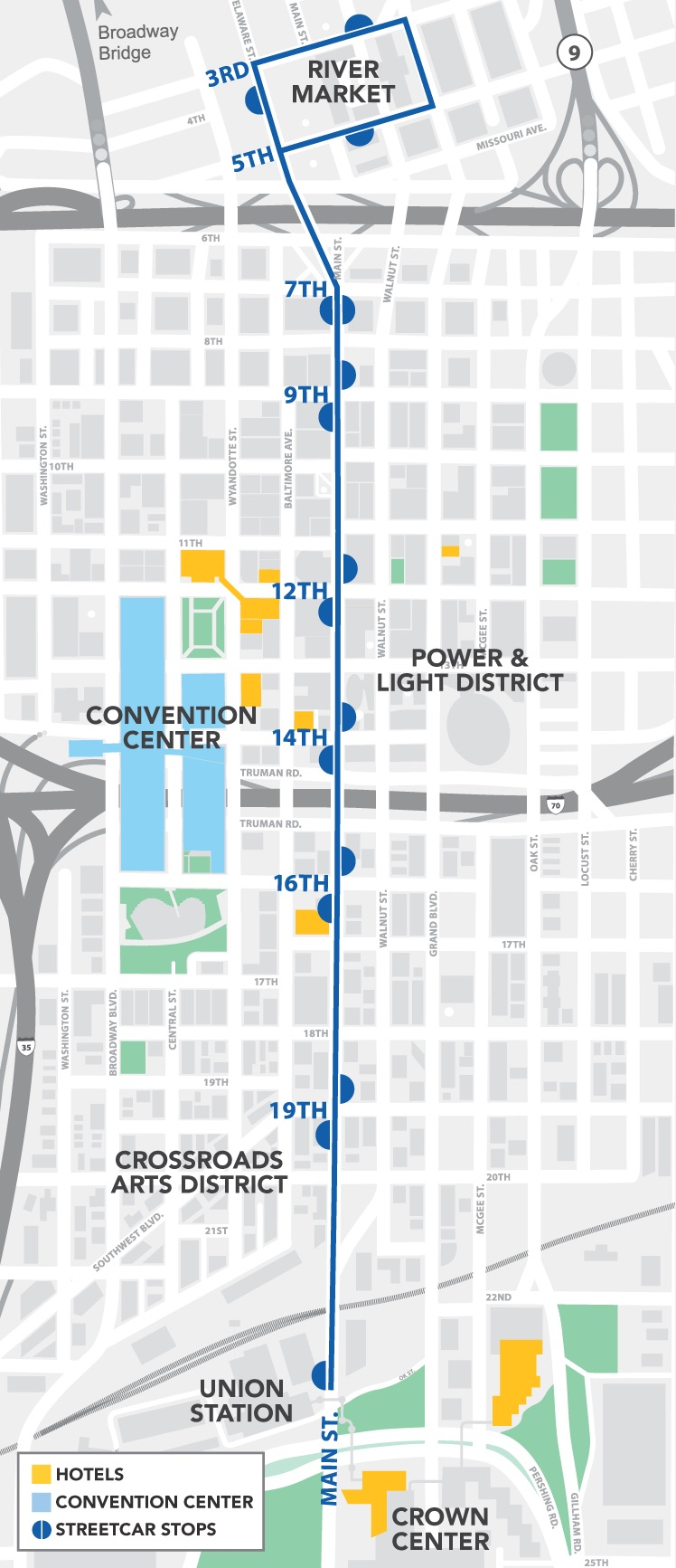 KC Streetcar | Lodging & Parking