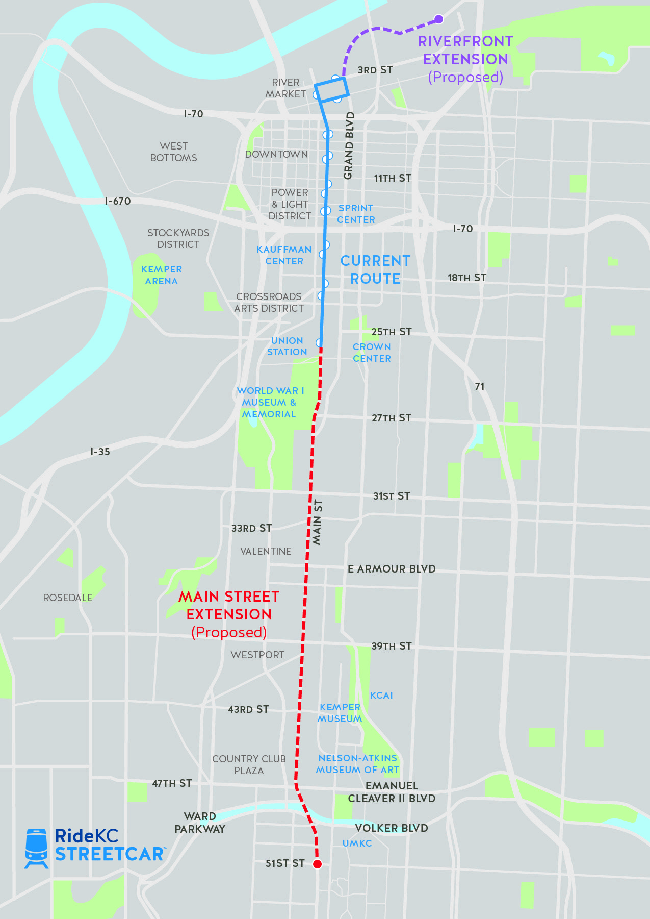 KC Streetcar | Main Street Extension