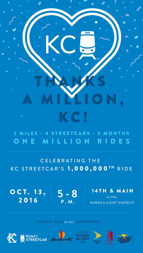 Streetcar 1 Mil Rider
