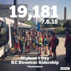 KC Streetcar | Ridership on the Rise